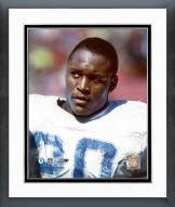 Detroit Lions Barry Sanders no helmet Framed Photo