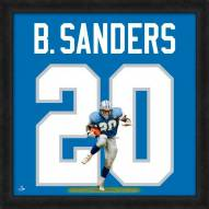 Detroit Lions Barry Sanders Uniframe Framed Jersey Photo