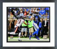 Detroit Lions Calvin Johnson 2014 Action Framed Photo