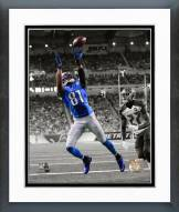 Detroit Lions Calvin Johnson 2014 Spotlight Action Framed Photo