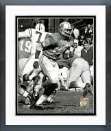 Detroit Lions Charlie Sanders 1968 Action Framed Photo