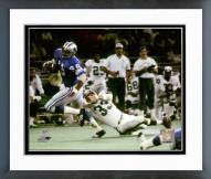 Detroit Lions Charlie Sanders 1971 Action Framed Photo