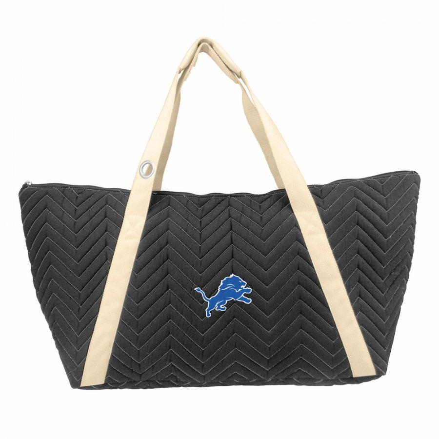 Detroit Lions Chevron Stitch Weekender Bag