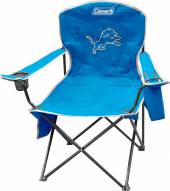 Detroit Lions Coleman XL Cooler Quad Chair