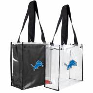 Detroit Lions Convertible Clear Tote