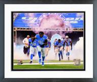 Detroit Lions Detroit Lions 2014 Team Introduction Framed Photo
