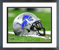 Detroit Lions Detroit Lions Helmet Framed Photo