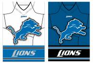 Detroit Lions Double Sided Jersey Flag