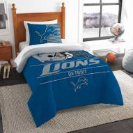 Detroit Lions Draft Twin Comforter Set