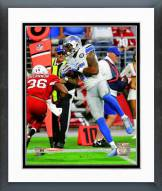 Detroit Lions Eric Ebron 2014 Action Framed Photo