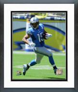 Detroit Lions Golden Tate 2015 Action Framed Photo