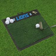 Detroit Lions Golf Hitting Mat