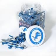 Detroit Lions 175 Golf Tee Jar