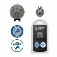 Detroit Lions Hat Clip & Marker Set