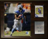 "Detroit Lions Jahvid Best 12 x 15"" Player Plaque"