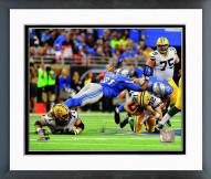 Detroit Lions Jason Jones & Ndamukong Suh 2014 Action Framed Photo