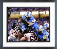Detroit Lions Joique Bell 2014 Action Framed Photo