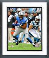 Detroit Lions Joseph Fauria 2014 Action Framed Photo