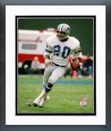 Detroit Lions Lem Barney 1972 Action Framed Photo