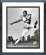 Detroit Lions Lem Barney Sepia Posed Framed Photo