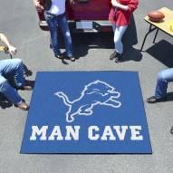 Detroit Lions Man Cave Tailgate Mat