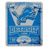 Detroit Lions Marque Fleece Blanket