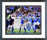 Detroit Lions Matthew Stafford 2014 Action Framed Photo