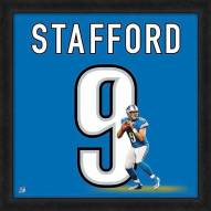 Detroit Lions Matthew Stafford Uniframe Framed Jersey Photo