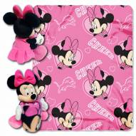 Detroit Lions Minnie Mouse Throw Blanket