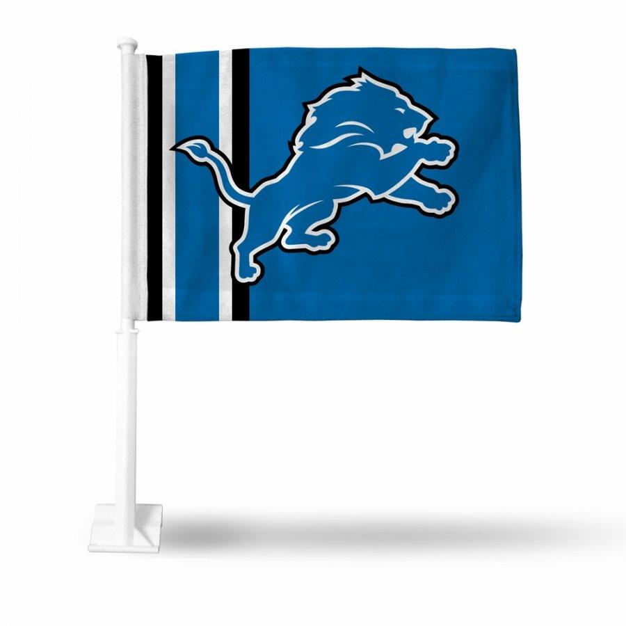 Detroit Lions NFL Car Flag