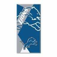 Detroit Lions Puzzle Beach Towel