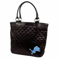 Detroit Lions Quilted Tote Bag