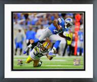 Detroit Lions Reggie Bush 2014 Action Framed Photo
