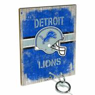 Detroit Lions Ring Toss Game
