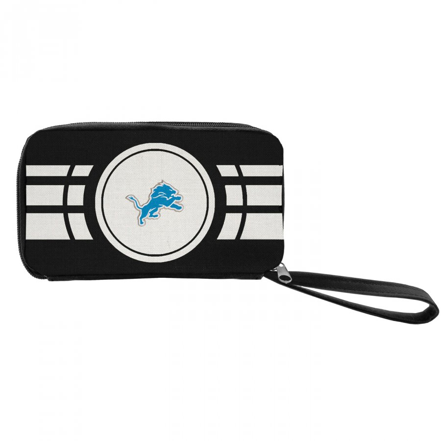 Detroit Lions Ripple Zip Wallet