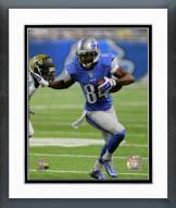 Detroit Lions Ryan Broyles 2014 Action Framed Photo