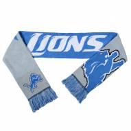 Detroit Lions Split Logo Reverse Scarf