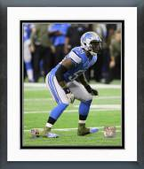 Detroit Lions Tahir Whitehead 2014 Action Framed Photo