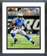 Detroit Lions Theo Riddick 2014 Action Framed Photo