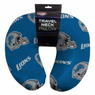 Detroit Lions Travel Neck Pillow