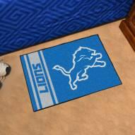 Detroit Lions Uniform Inspired Starter Rug