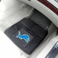 Detroit Lions Vinyl 2-Piece Car Floor Mats