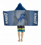 Detroit Lions Youth Hooded Towel