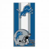 Detroit Lions Zone Read Beach Towel