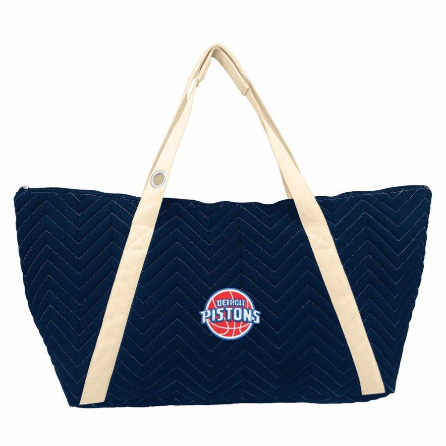 Detroit Pistons Chevron Stitch Weekender Bag