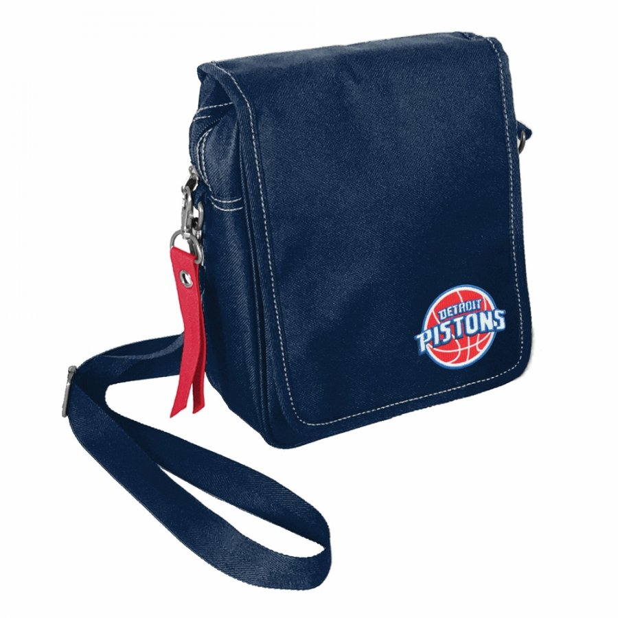 Detroit Pistons Ribbon Satchel
