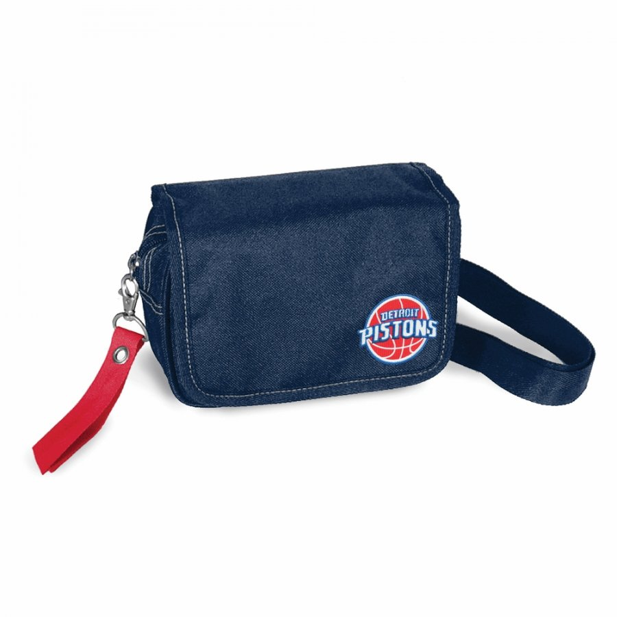 Detroit Pistons Ribbon Waist Pack Purse
