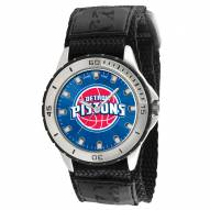 Detroit Pistons Veteran Velcro Mens Watch