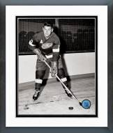 Detroit Red Wings Alex DeLvecchio Posed Framed Photo
