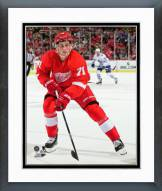 Detroit Red Wings Dylan Larkin 2015-16 Action Framed Photo